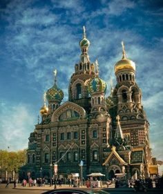 Caught Being Godly: 10 Beautiful Christian Churches Around the World- Church of the Savior on Spilled Blood, St. Petersburg, Russia