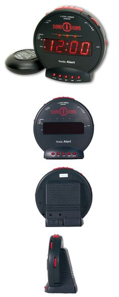 Alarm Clocks 79643: Alarm Clocks For Heavy Sleepers Clock Teens Extra Loud Shaking Home Battery Dual -> BUY IT NOW ONLY: $46.95 on eBay!