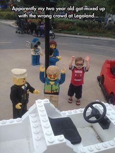 Wrong Crows At Legoland