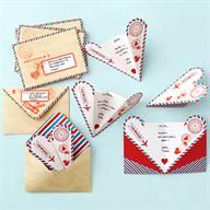 Loving these airplane shaped Valentine heart cards!  So charming!  Do you agree?