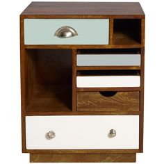 Percy Wood Bedside Cabinet Right 460 Liked On Polyvore