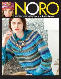 Noro Magazine - NM1-10 - Lace Yoke Pullover