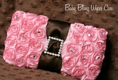 diaper wipe cases, nice for fancy occasions with a baby! :)