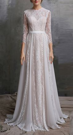 Boho Wedding Dress/ Lace Dress