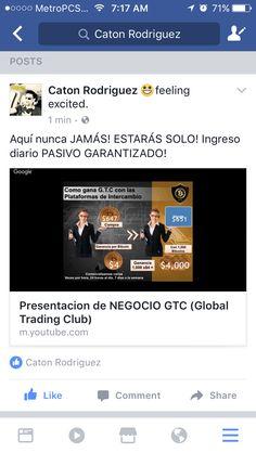 Aquí nunca JAMÁS! ESTARÁS SOLO! Ingreso diario PASIVO GARANTIZADO! https://m.youtube.com/watch?v=bEM8zhqGQLU&feature=youtu.be