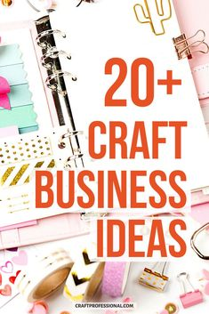 Lots of craft business ideas. Over 20 ways to sell your handmade items and build a creative business. #craftbusiness #craftprofessional Craft Business, Business Ideas, Creative Business, Selling Crafts Online, Craft Online, Make And Sell, How To Make Money, Where To Sell, Small Business Marketing