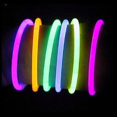 Brilliant! Glow stick bracelets for trick-or-treaters on Halloween! No sugar and great for kids with allergies. And a great deal on them too!