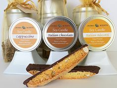 Italian Dolce Soy Candle Gift Sets by AromaScentsLLC on Etsy. Order now to guarantee availability