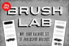 Brush Lab by Sivioco. A must have for any designer!