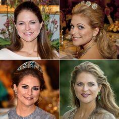Magdalena de Suecia en 35 peinados de princesa