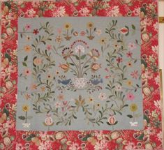 quilt pattern by Susan Smith of Patchwork on Stoneleigh based on antique quilt