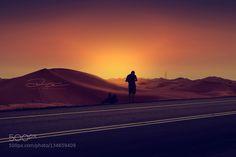 sunset - Pinned by Mak Khalaf Travel al ainbeautifuldarkdawndesertroadsandsunsettraveluae by shh666