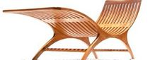 Sands Mulholland Handcrafted Modern Chaise Lounge