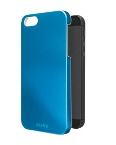 Case for iPhone 5 Give your iPhone a splash of colour.  Striking and stylish dual colour effect with metallic WOW colours on the outside and a high gloss white inside. Also in pink, orange and green. Make your iPhone complete!  #leitz #metallic #iphone #wow