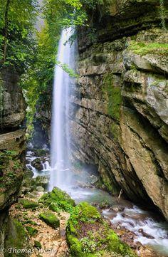 Taubenloch gorge, north of Biel/Bienne