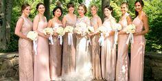 18 Adorable Photos That Prove the Best Bridesmaids Dresses Are Mismatched -Cosmopolitan.com