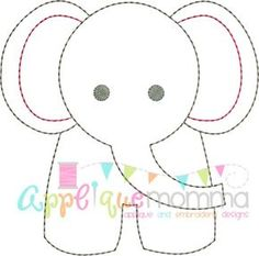 48 Ideas For Embroidery Patterns Tree Baby Applique Templates Free Applique Patterns, Baby Applique, Baby Quilt Patterns, Applique Quilts, Quilting Patterns, Felt Patterns, Sewing Patterns, Block Patterns, Embroidery Designs
