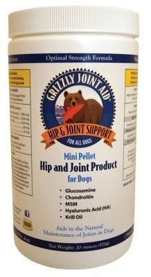 DOG HEALTH - VITAMINS & SUPP - GRIZZLY JOINT AID DOG PELLETS - 20OZ - GRIZZLY PET PRODUCTS LLC - UPC: 835953005426 - DEPT: DOG PRODUCTS