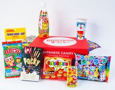 Japan Crate! Get a monthly subscription and have Japanese candy sent straight you!