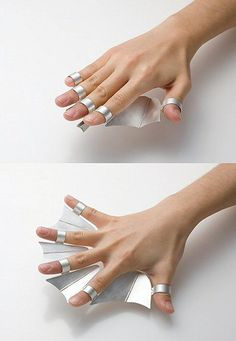 a_a. (TheCarrotbox.com modern jewellery blog : obsessed with rings // feed your fingers!: Ye Seul Seo / Lene Woltersから)