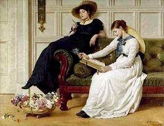 Reading and Art: George Dunlop Leslie