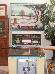 1976 Chicago Coin Hunt Club Coin Operated Rifle Shotgun Shooting Arcade Game picclick.com Pinball Games, Arcade Games, Retro Robot, Retro Toys, 80s Stuff, Hunt Club, Retro Images, School Videos, Fun Fair