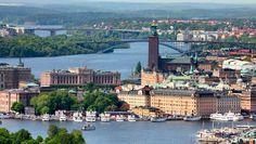 Stockholm, the capital of Sweden.