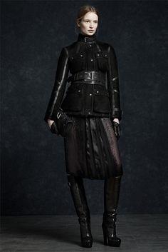 Belsatff military jacket. Visit www.lifeandstyleonadime.com for Fall trends. Image stilletto bootlover_83