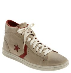 Old school. I actually played basketball in the day and I wore a pair just like this with rainbow shoelaces of course.