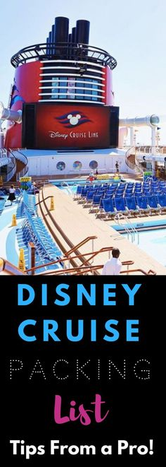 The BEST Disney Cruise Packing List (+ Pirate Night Details) : The ULTIMATE Disney Cruise Packing List. This is the BEST list for families and it includes a FREE printable to make packing easy! Packing List For Cruise, Vacation Packing, Cruise Travel, Cruise Vacation, Disney Vacations, Travel Packing, Cruise Tips, Vacation Ideas, Packing Lists