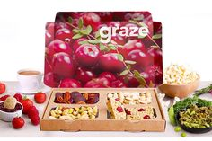 I just bought 3 Graze Snack Boxes & Delivery (now £4) via @wowcher