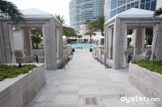 Cabanas at The Ocean Pool at the St. Regis Bal Harbour