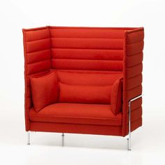 Contemporary sofa / by Ronan + Erwan Bouroullec / highback / for Vitra