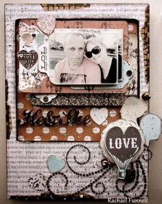 A window to my scrapping world blog  Kaisercraft - Something Blue collection BTP polaroid frame...