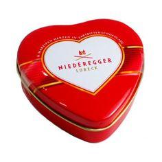 Niederegger Marzipan Hearts covered in Dark Chocolate « Lolly Mahoney
