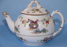 ROYAL WORCESTER, Breakfast TEAPOT (small) 'PEKIN' Porcelain   #TeaPot