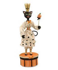 Another great find on #zulily! Black Cat Queen Figurine #zulilyfinds