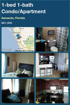 1-bed 1-bath Condo/Apartment in Sarasota, Florida ►$81,900 #PropertyForSale #RealEstate #Florida http://florida-magic.com/properties/3669-condo-apartment-for-sale-in-sarasota-florida-with-1-bedroom-1-bathroom