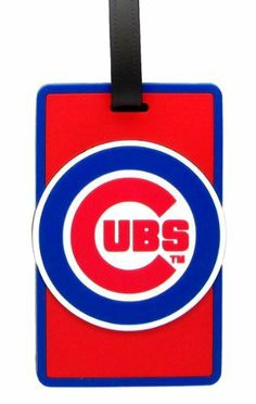 Chicago Cubs - MLB Soft Luggage Bag Tag by aminco. $7.95. Laser cut rubber luggage tag. Officially licensed by MLB. Attractive laser cut rubber luggage tag with Chicago Cubs colors and logo. Reverse side contains clear window housing your contact information.. Save 50%!