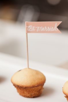 Brunch with Minted - The Sweetest Occasion Wedding 2015, Our Wedding, Wedding Bells, Dream Wedding, Wedding Ideas, Cupcake Flags, November Wedding, Wedding Store, Wedding Details