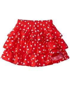 Girls Three Tiers Scooter Skirt from Little Girl Skirts, Baby Girl Skirts, Baby Skirt, Skirts For Kids, Dresses Kids Girl, Kids Outfits, Baby Dress Design, Baby Girl Dress Patterns, Sewing Kids Clothes