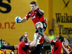 Richie McCaw Line Out