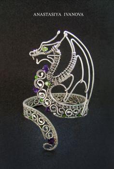 dragon silver by nastya-iv83 on DeviantArt