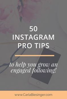 50 Instagram tips from your favourite bloggers // Carla Biesinger
