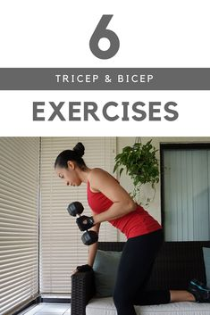 Tricep and Bicep Exercises