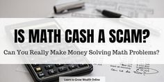 Thinking about trying Math Cash? What is Math Cash exactly? There are some important things you need to know about this app. Learn more in this detailed. Ways To Earn Money, Earn Money Online, Way To Make Money, How To Make, Fast Cash, Online Reviews, Math Problems, Basic Math, Arithmetic
