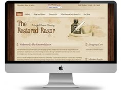 The #Restored #Razor is dedicated to providing high quality straight razors for all levels of experience. We specialize in creating new stock from vintage inventory through a detailed restoration process… Lujayn have leveraged e-commerce features of VirtueMart by customizing them and offered exceptional brand experiences. We have minimized checkout and add to cart steps right from category and product pages at all level.  -- Technology: - #Joomla 3, #VirtueMart, Newsletter Signup