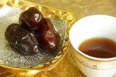 Arabic coffee with Medjool dates