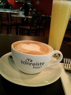 Un café y una sonrisa www.celestianshop.com