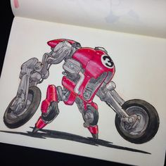 """DRONE RACERS!Number 44, winner of 5 Drone Racer cups.Number 39, set a Land Speed Record at last year's International Speed Trials.Number 8 has never won a Drone Race.Number 5 """"The Ghost."""" International Drone Street Racing champion.Number 3 """"The Red Devil"""" only Drone Racer to win all 7 international races."""